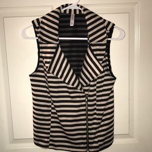 Xhilaration striped vest